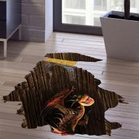 땅속 용 3D 스티커