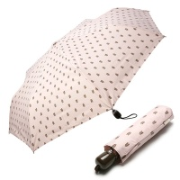 [rain s.] 레인스토리 3단 자동 우양산 - 보리(핑크)