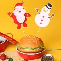 펠트 크리스마스 데코픽 세트(산타와눈사람)
