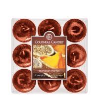 COLONIAL CANDLE 2103 티라이트 9pk 캔들 모로코의 시장