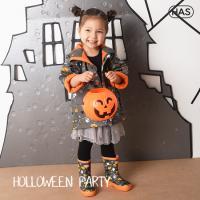 [헤즈] 아동 레인코트_할로윈파티(HOLLOWEEN PARTY)