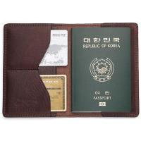국산 여권지갑 여권케이스 색상 다크브라운 CH1424472