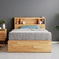 [노하우] 로뎅 고무나무원목 A형수납 4서랍 침대 SS