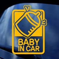 BABY IN CAR - 초보운전스티커(NEW102)