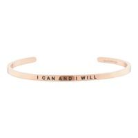 [만트라뱅글] I CAN AND I WILL - 로즈골드