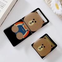 갤럭시 제트플립 Z플립 곰돌이 젤리 휴대폰 케이스