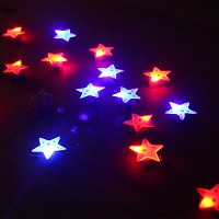 LED 플래시라이트 뱃지[별]25개한팩