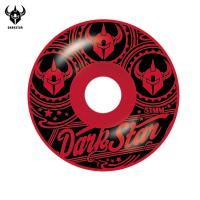 [DARKSTAR] VINTAGE RED MASTER URETHANE WHEELS 51
