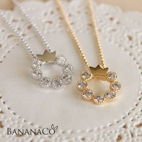 Shine crown Necklace