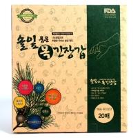 한국설란 솔잎 품은 목긴장갑