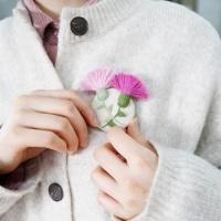 자수의온도 프랑스자수 DIY 패키지 카네이션 만들기