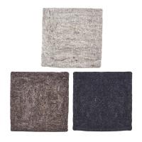 [House Doctor]Chair pad Felt Square 3Colors 사각체어패드
