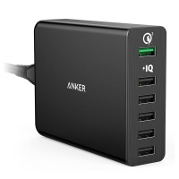 앤커 ANKER 퀵차지 3.0 파워포트+ 6포트 USB 충전기 화이트 (A2063Q21)