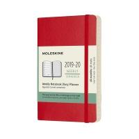 몰스킨 2020위클리(18M)/스칼렛레드 소프트 P