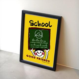 GOOD FRIENDS 포스터 - 옐로우