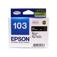 엡손(EPSON) 잉크 C13T103170 / NO.103 / 검정 / Stylus Office T40W,TX600FW , Stylus TX550W T103170 검정색,T103