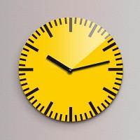 Reflex 무소음벽시계(소) ND171-YE