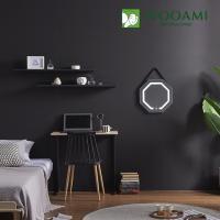 [우아미] 퍼블릭 LED 터치 팔각 스트랩 벽걸이 거울