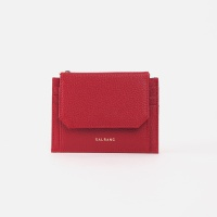 Reims 303S Cover card Wallet cherry red 커버 카드 월렛 체리레드