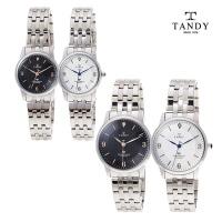 탠디 TANDY 메탈 다이아몬드 시계 T-3913