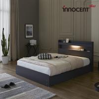 [이노센트] 리브 루아스 LED 수납 침대 Q/K