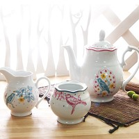 Tea Room  티포트 슈가크리머 set
