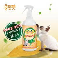 반려동물 제균 세정 청소제 고양이용 500ml