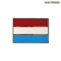 룩셈부르크 국기 뺏지