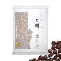 가성비 좋은 모래 4L 커피향