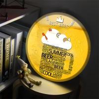 nc863-LED액자35R_가장맛있는맥주_LED사인