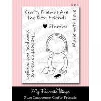 클리어스탬프 Pure Innocence Crafty Friends