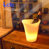 아이스버킷 인테리어 충전식 LED무드등 ICLE-MBCK1
