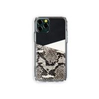 스매스 아이폰11프로 보호 가죽 카드케이스 오원_블랙(파이톤)