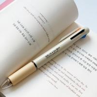 해결책 책갈피 4색 멀티펜(3색+형광) 세트