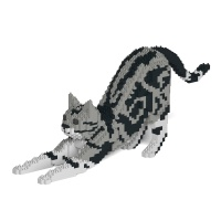 [JEKCA] 스트레칭 고양이레고 (아메리칸 쇼트헤어)