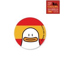 오우덕 스페인 캐리어/노트북 스티커