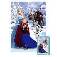 108피스 직소퍼즐과 액자 - 겨울왕국 이야기 (미니)