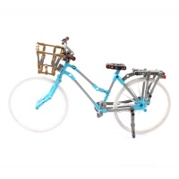 클래식 바구니 자전거 블록 246PCS