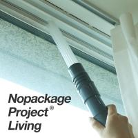 NPL 에어컨 창틀 틈새 청소기 헤드 청소솔 먼지 청소