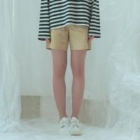 [어나더프레임] ANOTHER FRAME - BASIC TWILL BANDING SHORTS (BEIGE) 반바지 바지