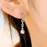 i_e69 - tropical sky _ moonstone earring