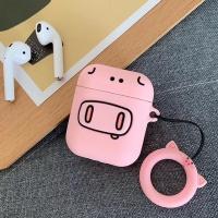 에어팟 1/2 캐릭터 키링 실리콘케이스 137 핑크돼지