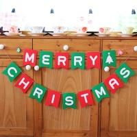 [인디고샵] 메리크리스마스 가랜드 (1set)