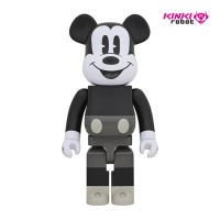 1000%BEARBRICK MICKEY MOUSE B&W (1812011)