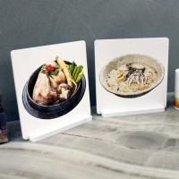 il020-스탠드액자2P_맛있는음식들5(삼계탕,닭죽)