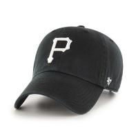 MLB모자 피츠버그 파이리츠 블랙 화이트빅로고