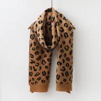 Leopard Knit Muffler