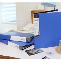 유니크 3공 D링 바인더형 클리어화일 A4 20매 파일