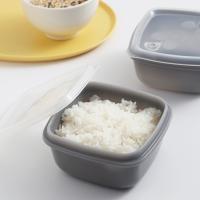 실리콘 전자레인지 냉동 밥팩용기4개세트(370ml)