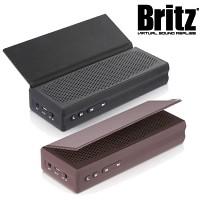 브리츠 휴대용 블루투스4.0 스피커 BZ-V3 SoundSkin (통화가능 마이크내장 / MP3 & 스마트폰폰 등 외부연결 AUX 단자 / 가죽 플립 커버)